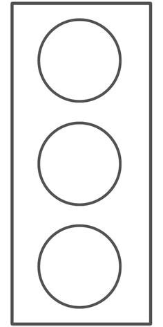 blank traffic light template clipart best