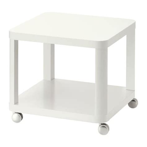 Ikea Tingby Side Table On Castors tingby side table on castors white ikea