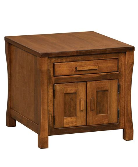 Heartland Cabinets by Heartland Cabinet End Table Amish Direct Furniture