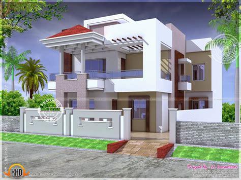 small modern house plans indian 3d small house plans