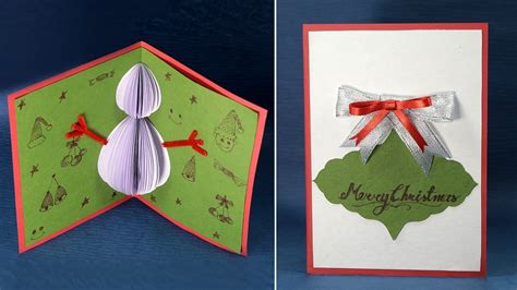 Handmade Cards Stin Up - pop up card handmade snowman card