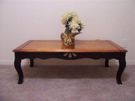 rustic chic large black coffee table for sale i deliver