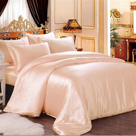 peach bed set best 20 silk bedding ideas on pinterest