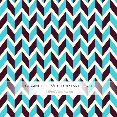 illustrator pattern free vector retro zigzag pattern illustrator 123freevectors