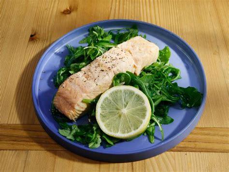 poached salmon recipes poached salmon recipe food network