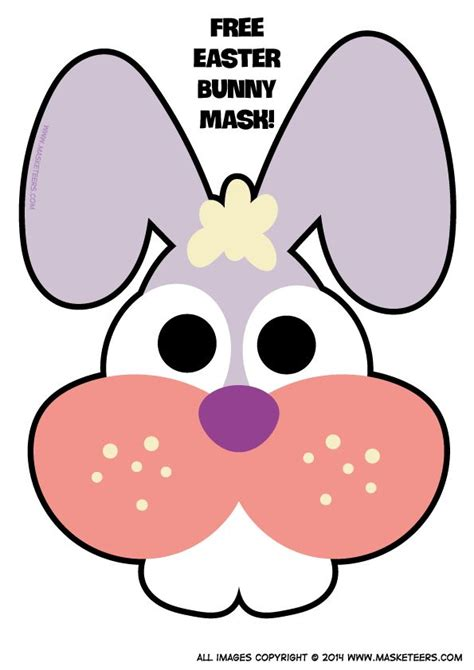 printable bunny mask best photos of printable bunny mask bunny rabbit mask