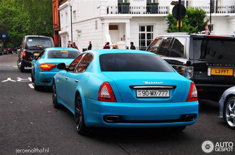 maserati turquoise combo spotted turquoise maserati granturismo and