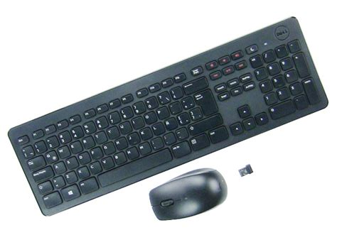 Keyboard Wireless Dell new dell wireless mouse desktop keyboard m1xf1