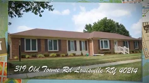 319 towne rd louisville ky 40214 home for sale