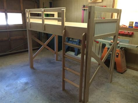 raised kids bed raised kids bed by craig lumberjocks com woodworking