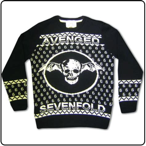 Sweater Hoodie Band Jumper Anti Flag avenged sevenfold official avenged sevenfold merchandise