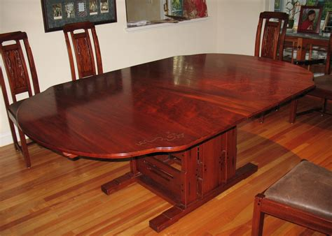 custom dining room table gamble house by paula garbarino