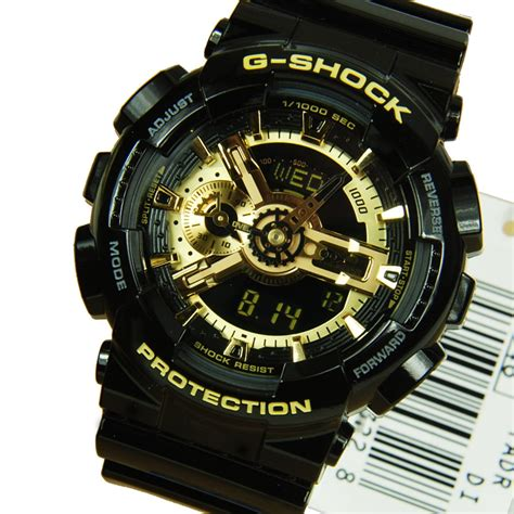 Casio G Shock Ga 110 1a Black casio g shock ga 110gb 1a ga 110gb ga 110gb 1adr