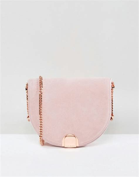 Ted Baker Stud The Bag From Asos by Ted Baker Ted Baker Mini Suede Detail Moon Bag
