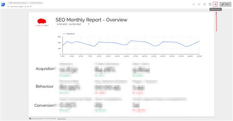 Beginners Guide To Google Data Studio How To Create Your First Report Data Studio Social Media Template