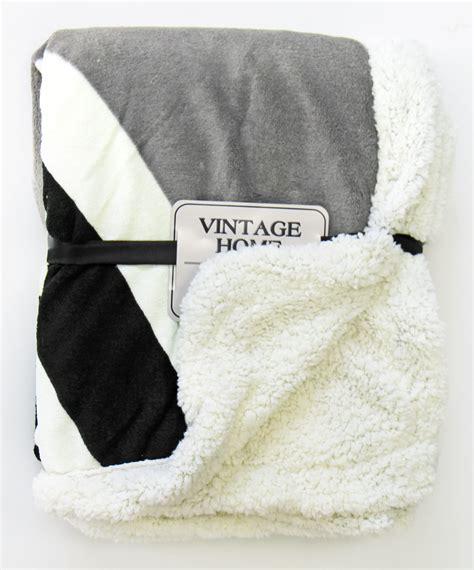 Vintage Throws For Sofas by Soft Vintage Fleece Throw Single Size 130x160 Cm