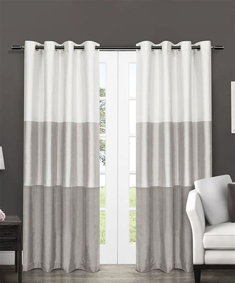 grey striped curtains 17 best ideas about panel curtains on pinterest shades