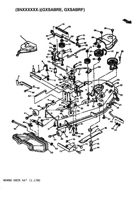 deere deck parts diagram deere mower parts diagrams sabrejohn lawn