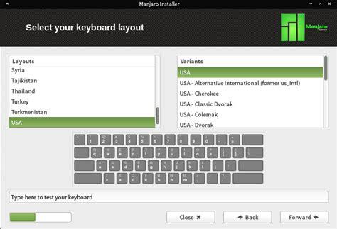 tutorial microsoft keyboard layout creator manjaro tutorial how to install manjaro 0 8 10 linux