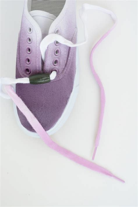 ombre shoes diy diy ombre shoes and laces oleander palm