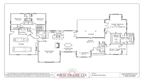 one story house plans with open floor plans small one