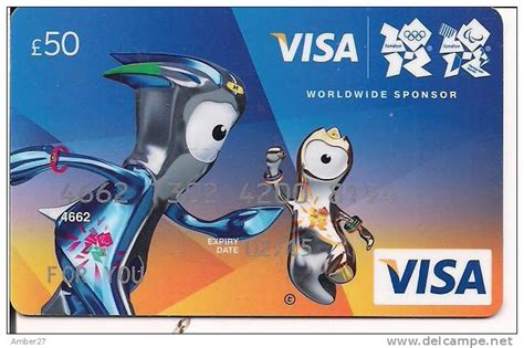 Visa Gift Cards Uk - uk gift card 163 50 vanilla visa london 2012 olympics mint unused delce net