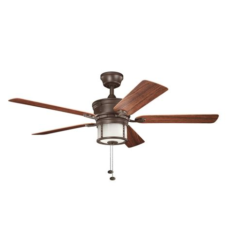 Kichler Outdoor Ceiling Fans Shop Kichler Lighting Lyndon