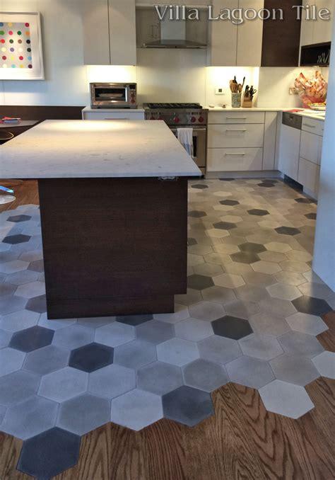 Good Bathroom Colors by Mixed Gray Hex Cement Tile Villa Lagoon Tile