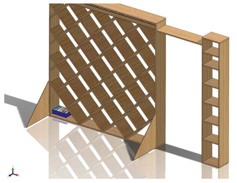 plans to build diagonal bookcase design plans pdf plans