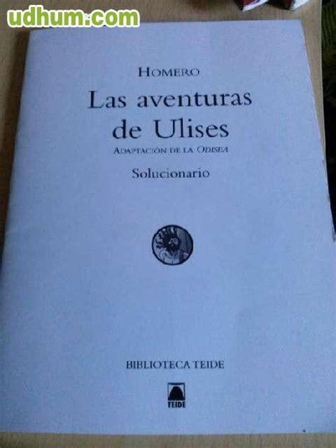 las aventuras de ulises 8467547456 solucionario de las aventuras de ulises