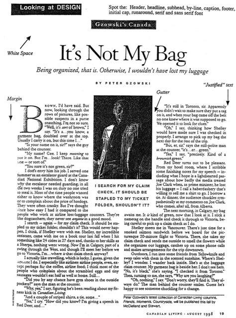 magazine layout lingo bta3 index page