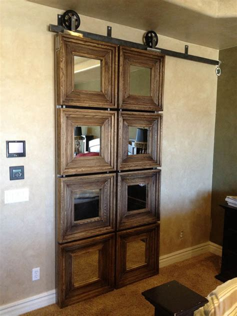 how to make an interior sliding barn door cleverly use interior sliding barn doors in your home