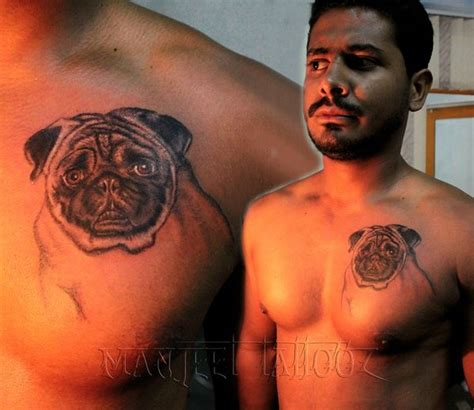 dog tattoo best tattoo maker in india manjeet tattooz