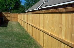 wood fences design ideas