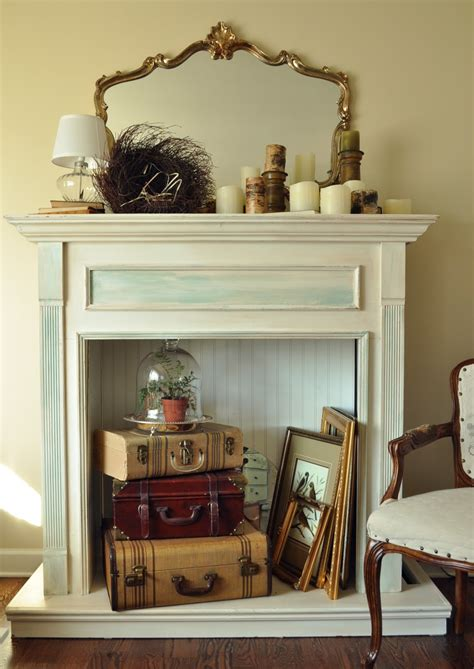 Faux Fireplace Mantels by Adding The Finishing Touch With A Faux Fireplace Mantel