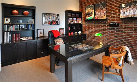 Organization Ideas For Kitchen mullet cabinet home office for the sports fan