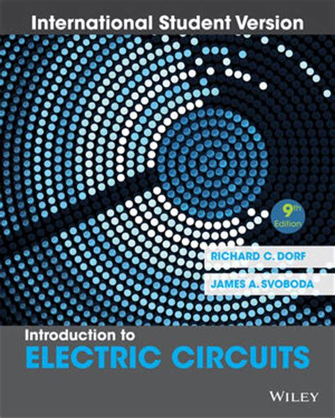 electric circuits 9th wiley introduction to electric circuits 9th edition