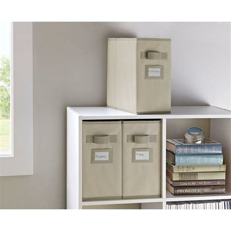 martha stewart living half width fabric drawers 15 best storage containers images on storage