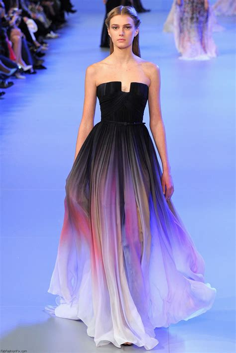 is ombre still in fashion 2014 elie saab haute couture spring 2014 collection fab