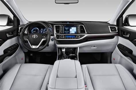 2014 Toyota Highlander Interior Dimensions by 2014 Toyota Highlander Cockpit Interior Photo Automotive