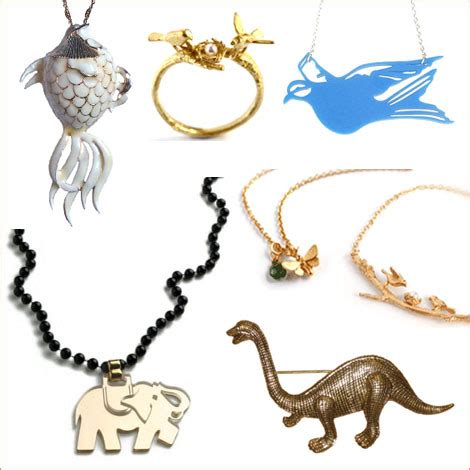 Vintage Glam Animal Necklaces by Oh Vintage Glam Animal Necklaces Oh
