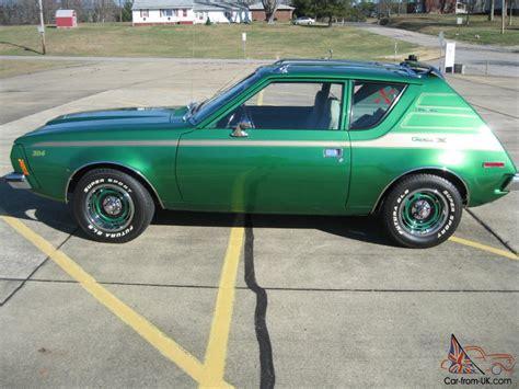 Green For Sale 1973 Green Amc Gremlin X Factory V8