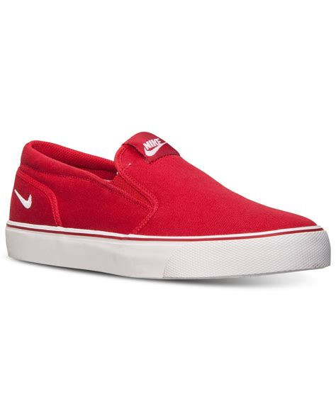 nike s toki slip txt casual sneakers from finish line