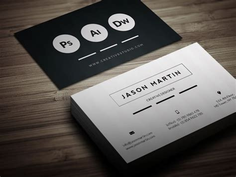 Free Indesign Business Card Template Behance by Flat Corporate Business Card By Jason Martin At
