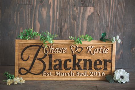 Handcrafted Wooden Signs - 92 family wedding gifts family sign together we