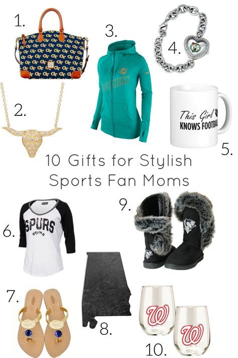 gifts for him sports fan 10 gifts for stylish sports fan moms the style ref the