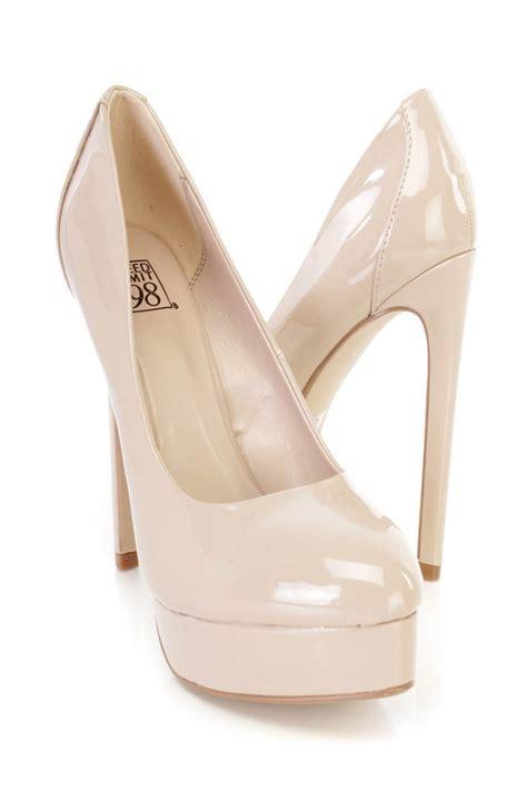 high heels beige beige high heels fs heel