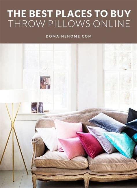 the best places to buy throw pillows beautiful