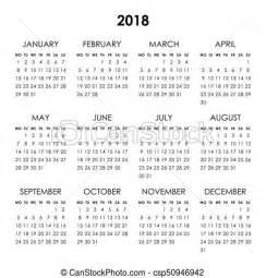 Calendã Feriados 2018 Portugal Calendar 2018 Year Calendar For 2018 Year Isolated On A