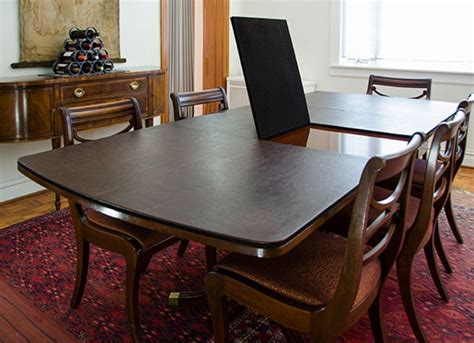 custom table pads for dining room tables decorating ideas
